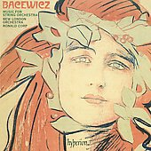 Bacewicz: Music for String Orchestra / Ronald Corp, New London Orchestra