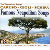 Famous Neapolitan Songs (Box Set)