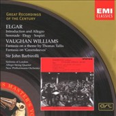 Elgar: Introduction and Allegro; Serenade; Vaughan Williams: Fantasias