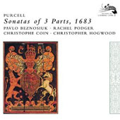 Purcell: Sonatas of 3 Parts, 1683