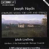 Haydn: Complete Works for Lute & Strings / Jakob Lindberg