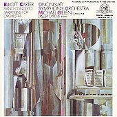 Carter: Piano Concerto, Variations for Orchestra