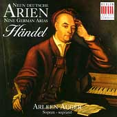 Händel: Nine German Arias / Arleen Augér