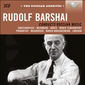 Rudolph Barshai Conducts Russian Music: Lokshin, Meerovich, Prokofiev, Weinberg et al.
