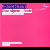 Richard Strauss: An Alpine Symphony / Orchestra of the Tyrolean Festiva, Gustav Kuhn: conductor