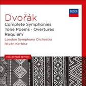 Dvorak: Complete Symphonies; Tone Poems; Overtures; Requiem / London SO, István Kertész [9 CDs]