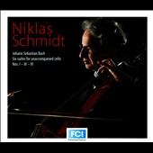 Bach: Suites for unaccompanied cello Nos. 1, 3 & 6 / Niklas Schmidt, cello