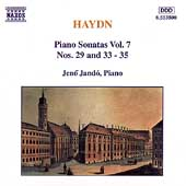 Haydn: Piano Sonatas Vol 7 / Jen&ouml; Jand&oacute;