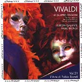 Vivaldi: The Four Seasons / Fabio Biondi, L'Europa Galante