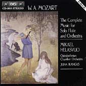 Mozart: Music for Flute & Orchestra / Helasvuo, Kangas