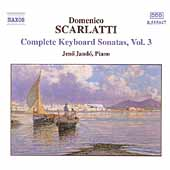 D. Scarlatti: Complete Keyboard Sonatas Vol 3 / J&eacute;n&ouml; Jand&oacute;