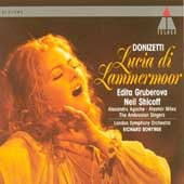 Donizetti: Lucia di Lammermoor / Edita Gruberova, Neil Shicoff, Alexandru Agache. Alastair Miles. Richard Bonynge