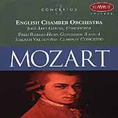 Mozart: Clarinet Concerto, Horn Concerti /Valdepe&ntilde;as, Rinzer