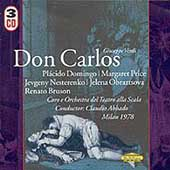 Verdi: Don Carlos / Abbado, Domingo, Price, Bruson, et al