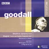 Bruckner: Symphony no 8;  Wagner / Goodall, Baker, et al
