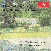 Music of Les Six for Clarinet & Piano / Wachmann, Reuter