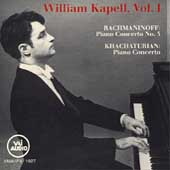 Rachmaninoff: Piano Concerto no 3;  Khachaturian / Kapell