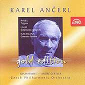 Ancerl Gold Edition 17 - Ravel, Lalo, Hartmann