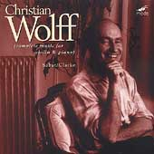 C. Wolff: Complete Works for Violin and Piano /Sabat, Clarke