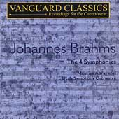 Brahms: The Symphonies / Maurice Abravanel, Utah Symphony