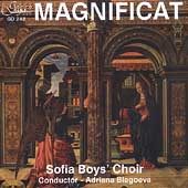 Magnificat / Adriana Blagoeva, Sofia Boys' Choir