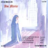 Ave Maria / Marie Hayward Segal, Kevin Bowyer, Miriam Keogh