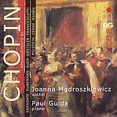 SCENE  Chopin Arrangements / Madroszkiewicz, Gulda