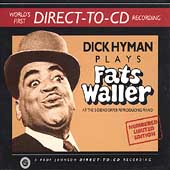 Dick Hyman: Dick Hyman Plays Fats Waller [Limited]