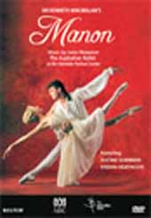 Kenneth MacMillan / MANON (Australian Ballet) / Noel Smith / Summers, Heathcote [DVD]