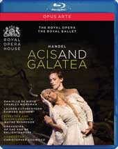 Handel: Acis and Galatea / de Niese, Workman, ROH, Hogwood [Blu-Ray]