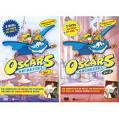 Oscar's Orchestra - Vol. 1 and 2 - Intro to Classical Music for Children [4 DVD]
