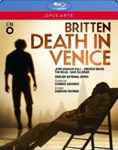 Britten: Death In Venice (live 2013) / Graham-Hall; Shore; Mead; Zaldivar; English Nat'l Opera Orch.; E. Gardner [Blu-Ray]