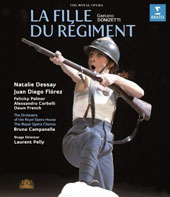 Donizetti: La Fille du Regiment (The Daughter of the Regiment) / Campanella/Royal Opera House, Natalie Dessay, Juan Diego Florez, Felicity Palmer [Blu-ray]