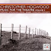 Music for the Theatre Vol 2 - Copland, et al / Hogwood