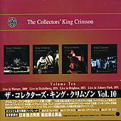 King Crimson: The Collectors' King Crimson, Vol. 10