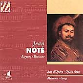 Jean Not&#233; - Opera Arias, Songs