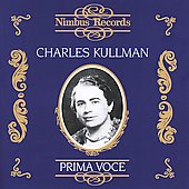 Prima Voce - Charles Kullman - European Recordings 1931-1938