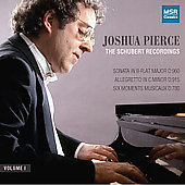 The Schubert Recordings Vol 1 / Joshua Pierce