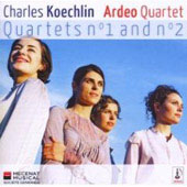 Koechlin: Quartets no 1 and 2 / Ardeo Quartet
