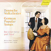 German Popular Songs / Pahn, Held