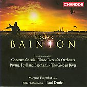 Bainton: Concerto fantasia, Golden River Op 16, etc / Daniel, Fingerhut, et al