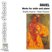 Ravel: Works for Violin and Piano / Régis Pasquier, Brigitte Engerer