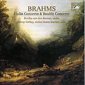 Brahms: Violin Concerto, Double Concerto / Booren, Verhey, Starker, et al