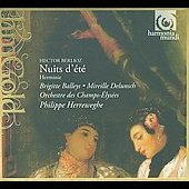 Berlioz: Nuits d'&eacute;t&eacute;, Herminie / Philippe Herreweghe