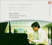 Sergej Rachmaninow: Klavierkonzerte Nr. 1-4
