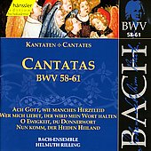 Bach: Cantatas, BWV 58-61