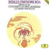 Mahler: Symphonie no 4 / Bernstein, Wittek, Concertgebouw