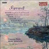 Farewell: Music By Haydn Martin Vogel Haller