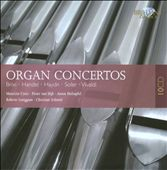 Brixi, Handel, Haydn, Soler, Vivaldi: Organ Concertos