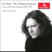 J.S. Bach: The Goldberg Variations / Colin Noble, piano